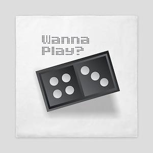Dominoes - Wanna Play? Queen Duvet
