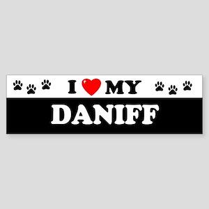 DANIFF Bumper Sticker