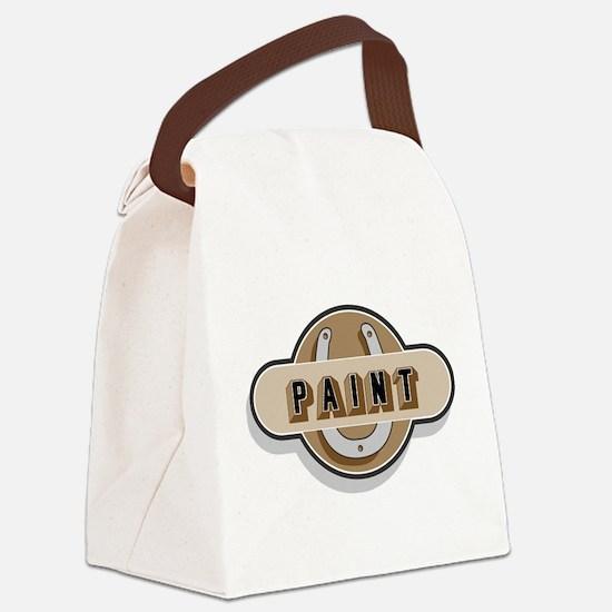 Paint Horse Canvas Lunch Bag
