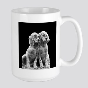 English Setter Pups-2 Large Mug