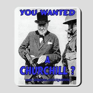 Winston Churchill Cigar Mousepad