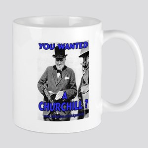 Winston Churchill Cigar Mug