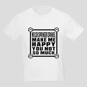 Welsh Springer Spaniel Dog Make Kids Light T-Shirt