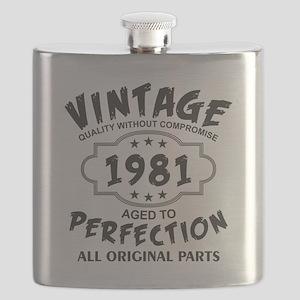 Vintage 1981 Flask