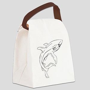 Mako Shark Canvas Lunch Bag