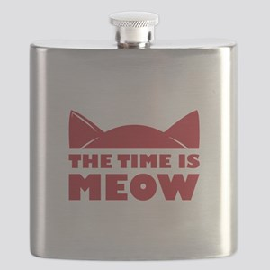 Time Is Meow Flask