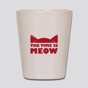 Time Is Meow Shot Glass