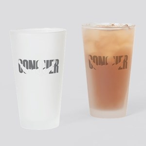 Conquer Drinking Glass