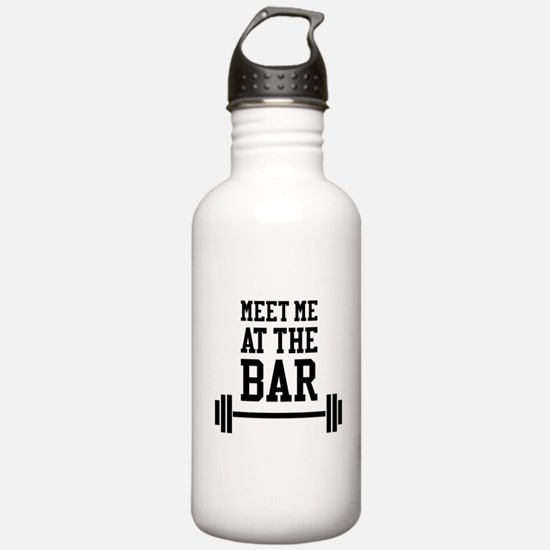 Meet Me At The Bar Water Bottle