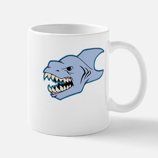 Dinosaur Shark Mugs