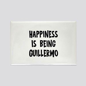 Happiness is being Guillermo Rectangle Magnet