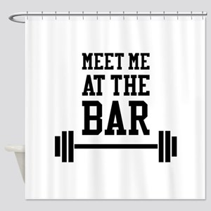 Meet Me At The Bar Shower Curtain