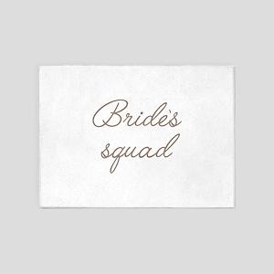 Bride's Squad 5'x7'Area Rug