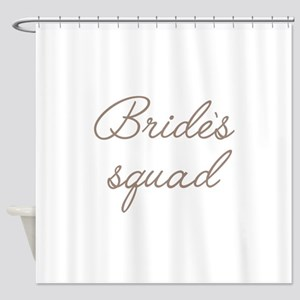Brides Squad Shower Curtain