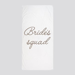 Bride's Squad Beach Towel