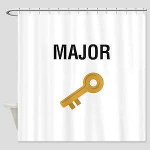 Major Key Shower Curtain