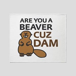 Cuz Dam Throw Blanket