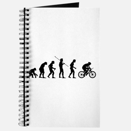 Cute Evolution of man biker Journal
