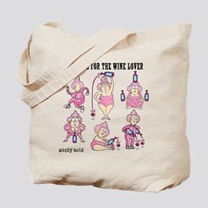 Aerobics for the Wine Lover Tote Bag