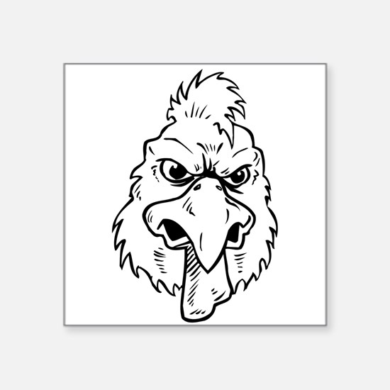 Mean Rooster Sticker