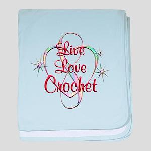 Live Love Crochet baby blanket