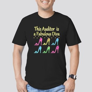 AUDITOR DIVA Men's Fitted T-Shirt (dark)