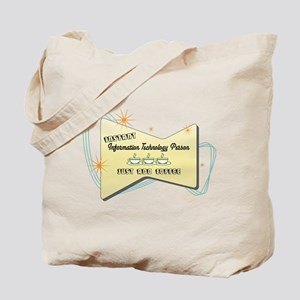 Instant Information Technology Person Tote Bag