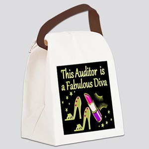 AUDITOR DIVA Canvas Lunch Bag