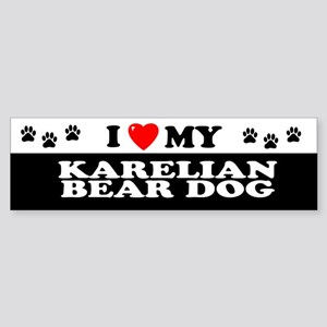 KARELIAN BEAR DOG Bumper Sticker