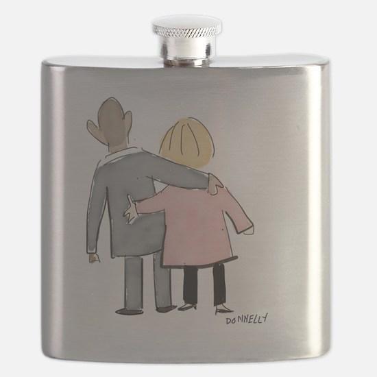Funny Obama potus Flask
