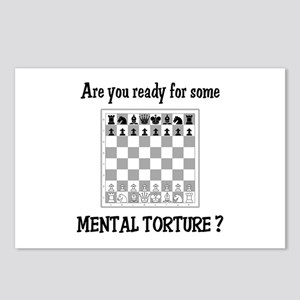 Chess - Mental Torture Postcards (Package of 8)