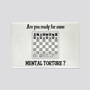Chess - Mental Torture Rectangle Magnet