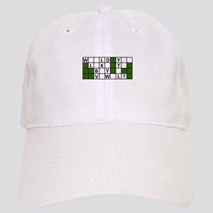 buy_a_vowel_dark Baseball Cap