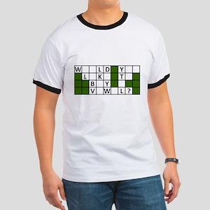 buy_a_vowel_dark T-Shirt