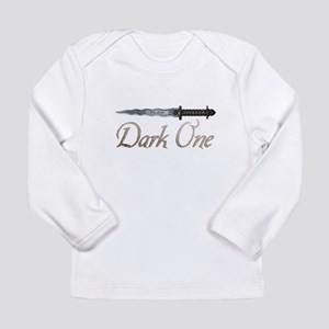 Personalized Dark One D Long Sleeve Infant T-Shirt
