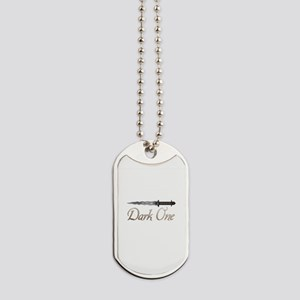 Personalized Dark One Dagger Dog Tags