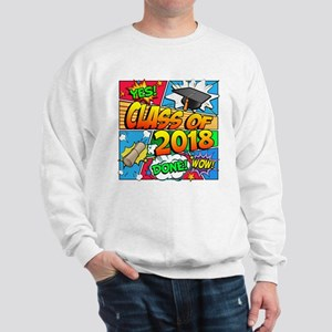 Class of 2018 Comic Book Sweatshirt
