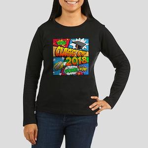 Class of 2018 Com Women's Long Sleeve Dark T-Shirt