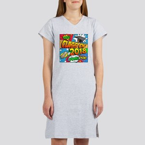 Class of 2018 Comic Book Women's Nightshirt