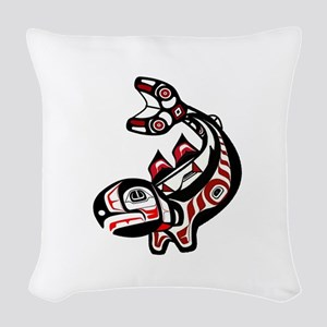TRIBUTE Woven Throw Pillow