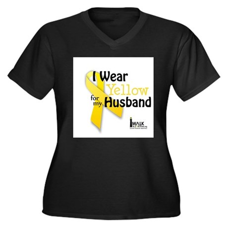 Yellow for Husband Plus Size T-Shirt
