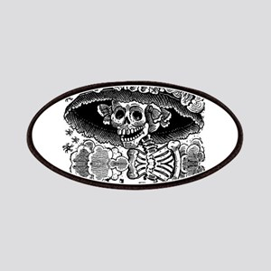 Day of the Dead Catrina Skull Patch