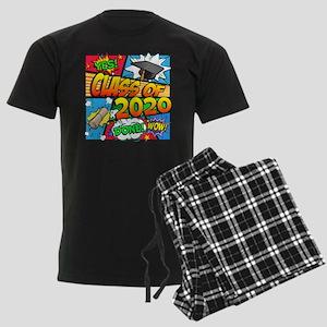 Class of 2020 Comic Book Men's Dark Pajamas