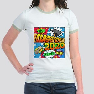 Class of 2020 Comic Book Jr. Ringer T-Shirt