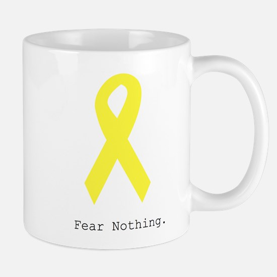 Yellow. Fear Nothing Mugs