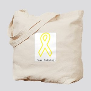 Yellow Out. FearNothing Tote Bag