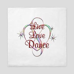 Live Love Dance Queen Duvet