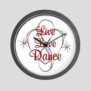 Live Love Dance Wall Clock