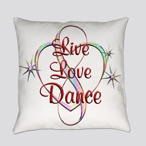 Live Love Dance Everyday Pillow