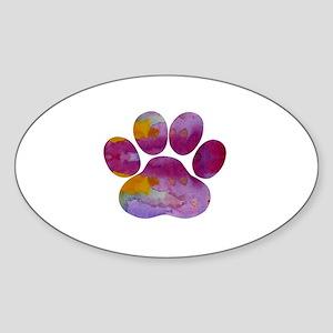Dog Paw Sticker